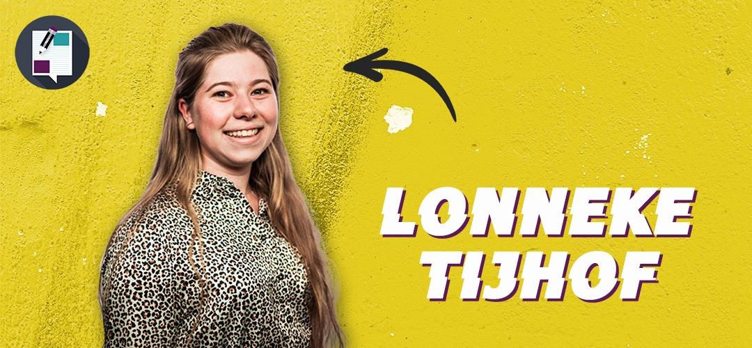 """Lonneke: """"Mijn hoofd zit soms vol met mooie plannen"""""""