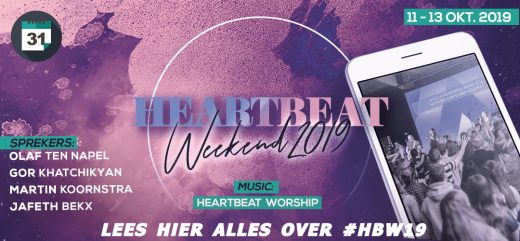 Waarom Heartbeat Weekend zo gaaf is en we jou verwachten
