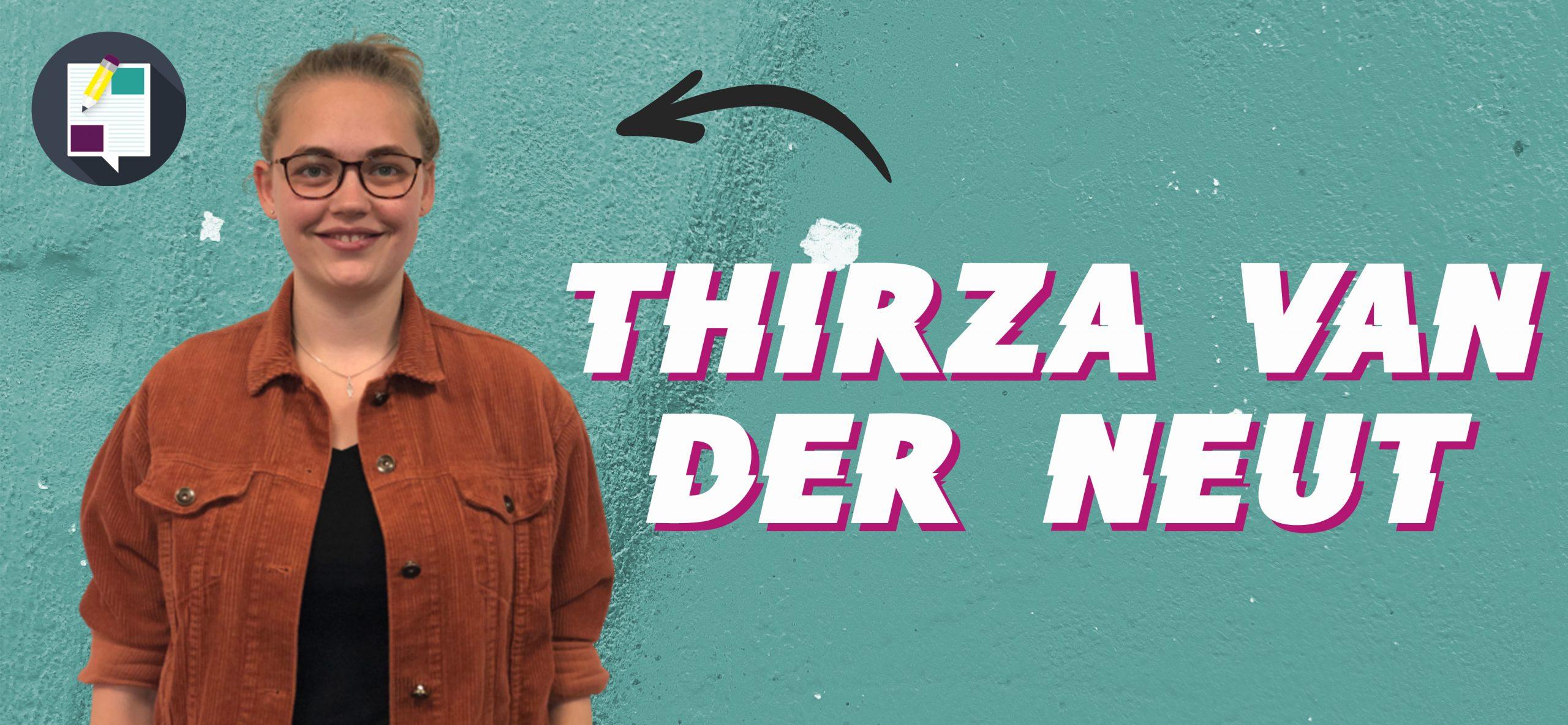 Thirza is chronisch depressief en ervaart toch een diepe vreugde… Hoe dan??