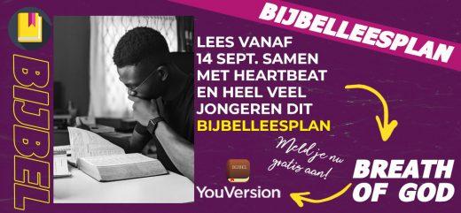 Lees samen met Heartbeat en andere jongeren dit Bijbelleesplan