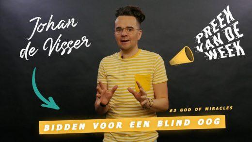 Preek van de week: Een blinde man kon weer zien!
