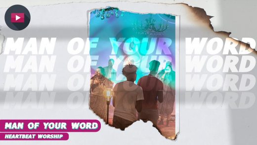 Luister naar dit geweldig mooie lied: Man of your word