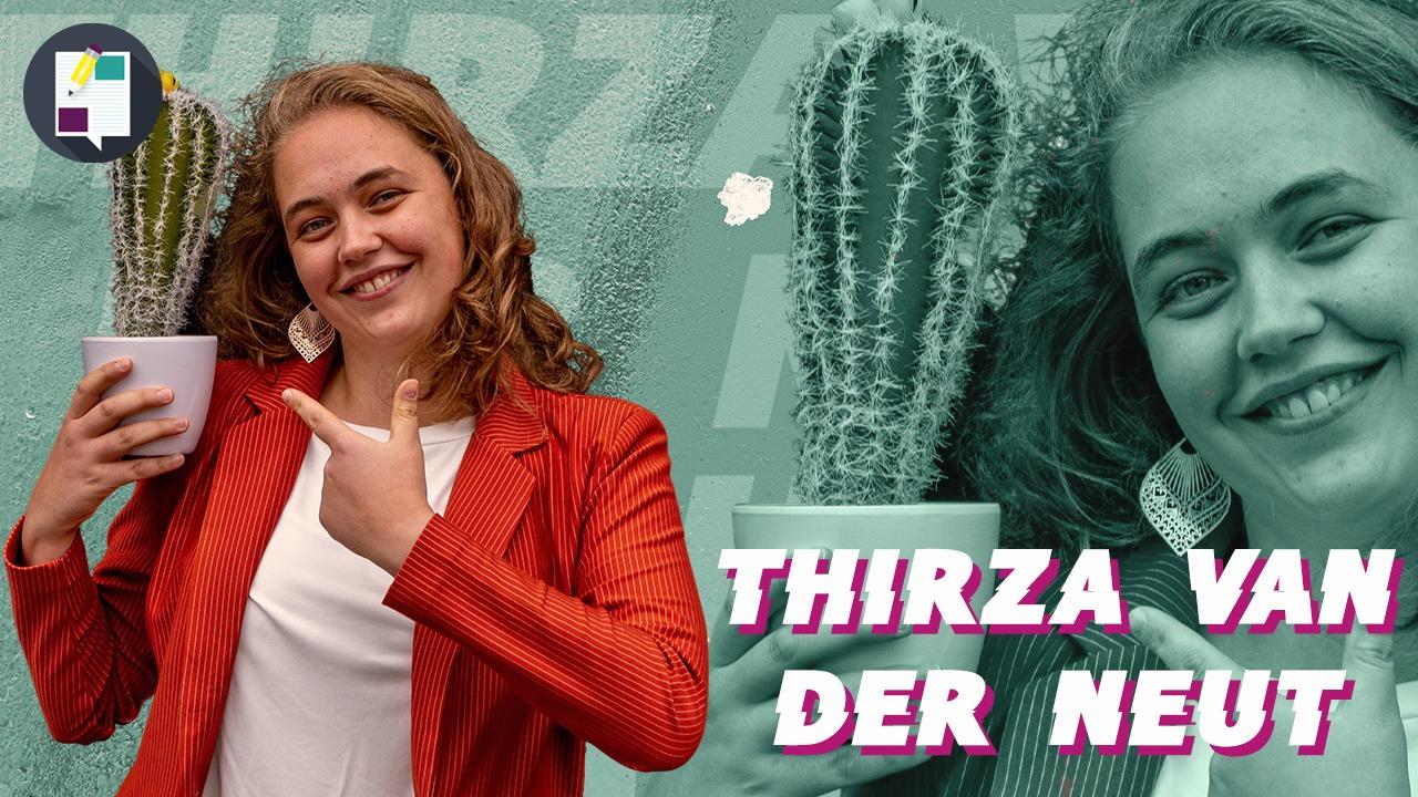 Thirza is doodstil en vraagt zich af: 'Zou ik ook zo veel lef hebben'?