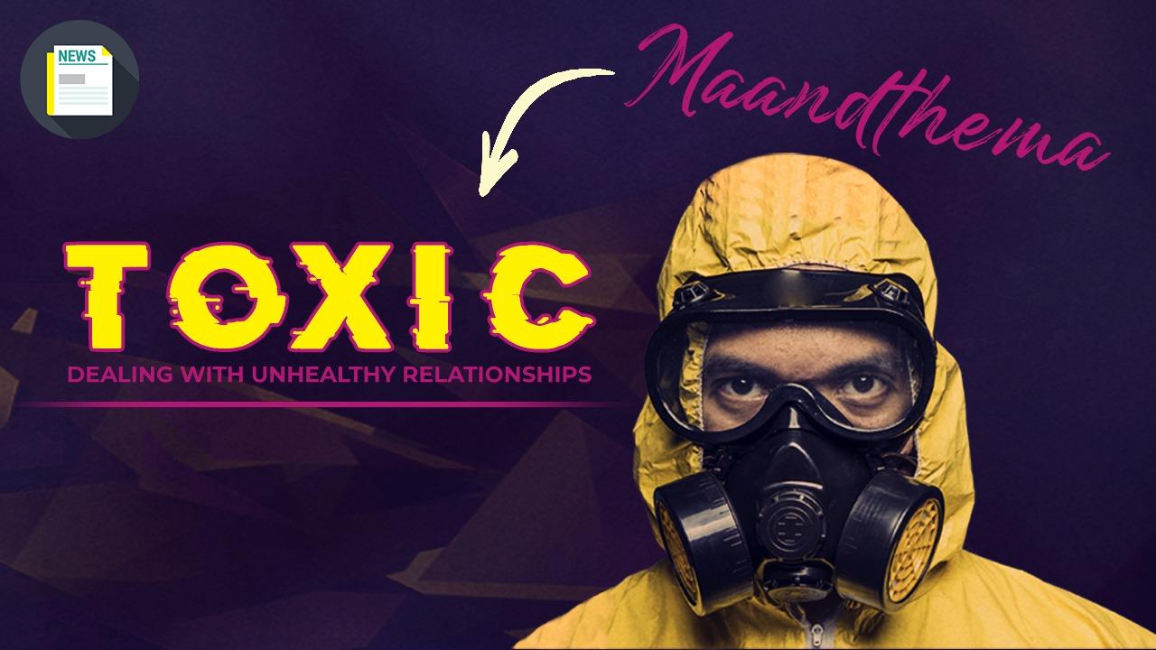 Zet je schrap voor het nieuwe maandthema! Toxic – dealing with unhealthy relationships