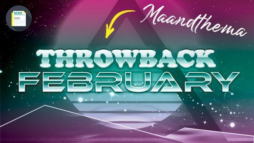 Throwback February… Spring je terug in de tijd met ons deze maand?
