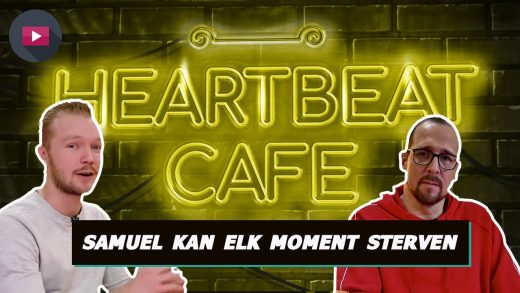 Heartbeat Café: Samuel kan elk moment sterven… Hoe gaat hij daarmee om?
