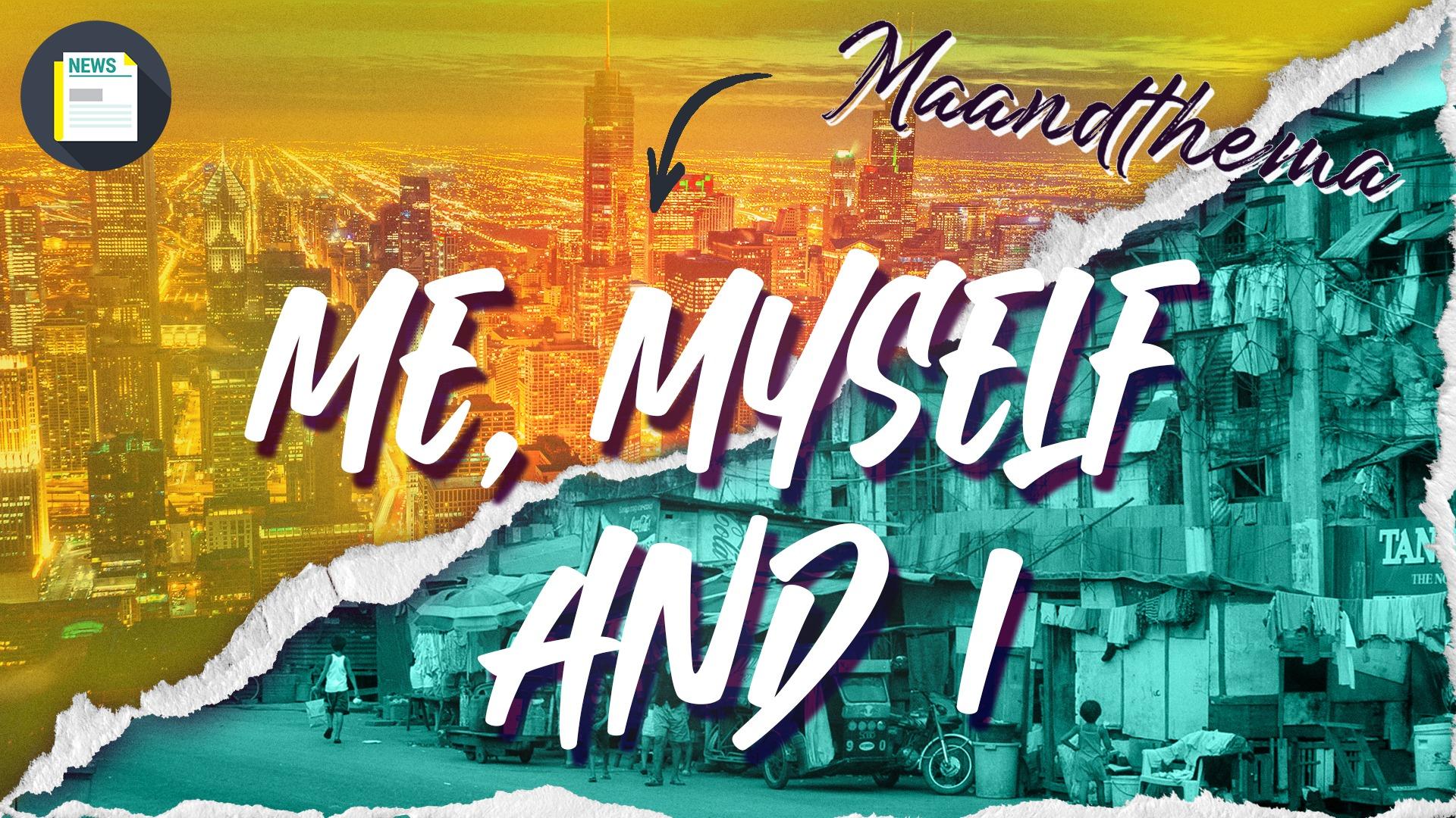 Het nieuwe maandthema van Mij! Euh… Mei! Me, Myself & I.