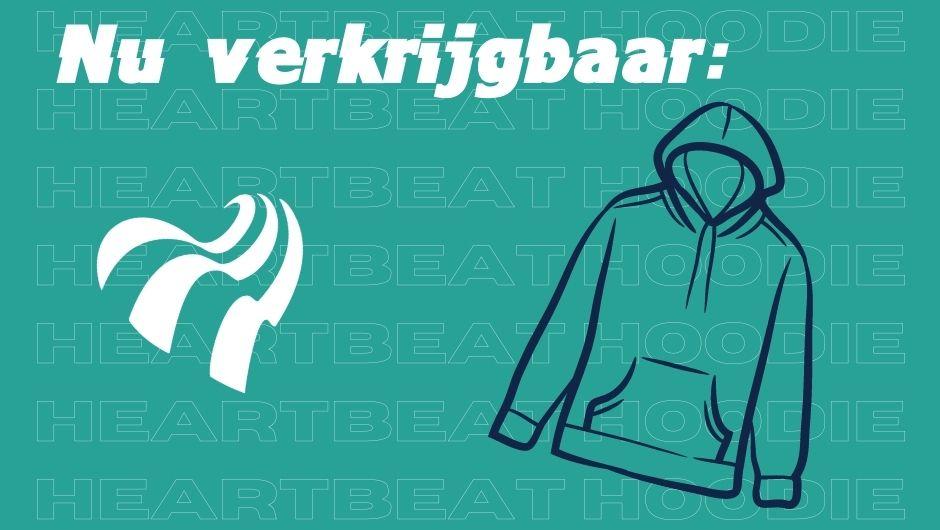 Je bekijkt nu Hier hebben jullie jaren naar gevraagd: de Heartbeat hoodie!